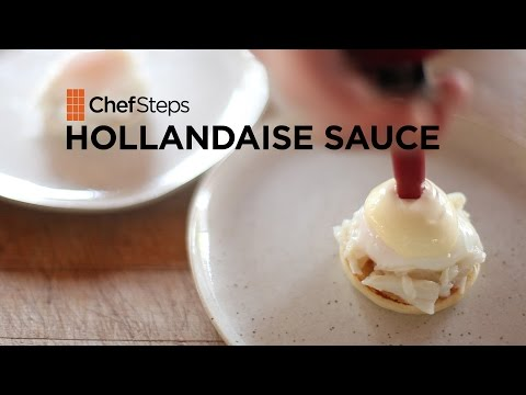 Get Softer, Lighter Hollandaise Sauce With a Whipping Siphon