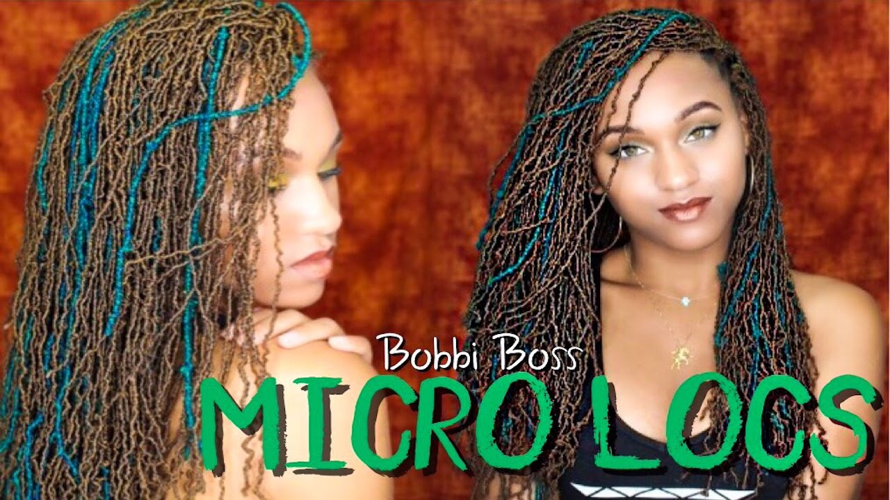 Crochet Goddess Locs How To New Bobbi Boss Micro Locs Sister Locs Review Youtube