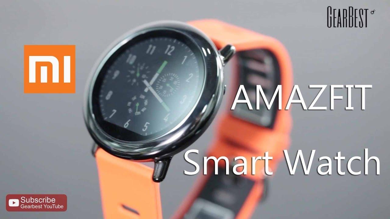 Xiaomi Amazfit Sports Smart Watch Gearbest Com Youtube