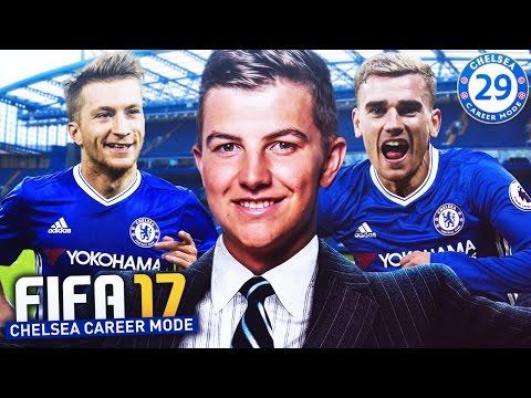 """INCREDIBLE FINAL TRANSFER DAY"" FIFA 17 CHELSEA CAREER MODE #29"