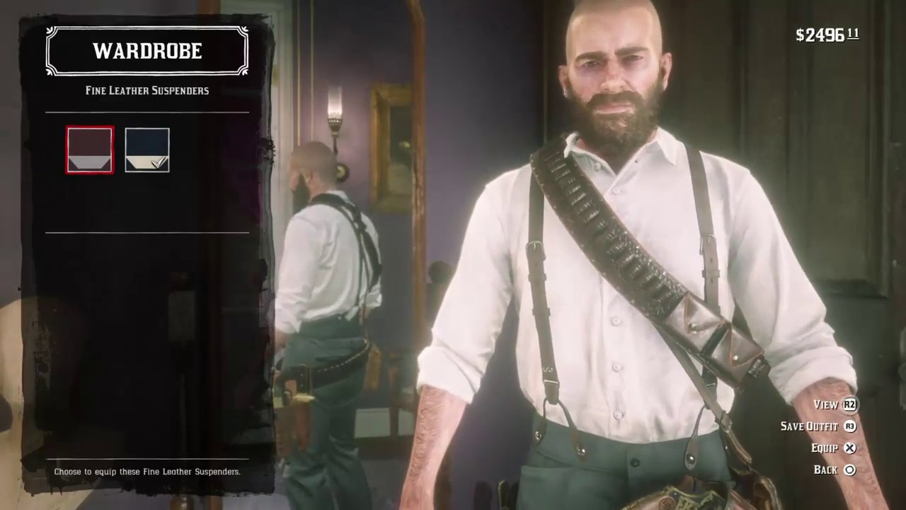 How To Make Bald Max Payne Outfit Arthur Morgan Sad Arthur