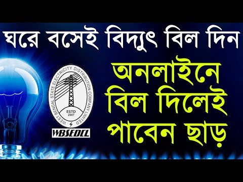 How To Pay Electricity Bill At Home   Pay Bill Online   in Bengali