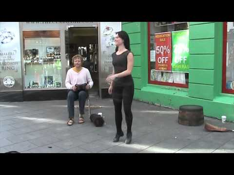 Galway Irish step dancer