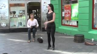 Galway   Irish step dancer