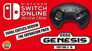 1990s Critics Review Nintendo Switch Online Expansion Pack Genesis Games (A - M) - Defunct Games