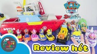 Thử thách review hết Sea Patrol series mới của Paw Patrol ToyStation 346