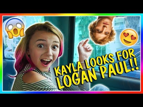 KAYLA IS LOOKING FOR LOGAN PAUL | We Are The Davises