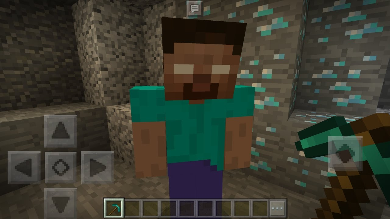 How To Spawn Herobrine in Minecraft Pocket Edition with Addons (I Found Herobrine Again!) - YouTube