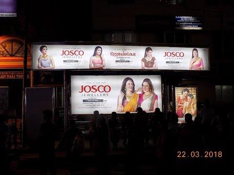 Josco Jewellers - Bus Shelter Advertisement Coimbatore