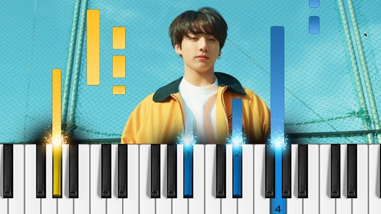 BTS (방탄소년단) - Euphoria - Easy Piano Tutorial