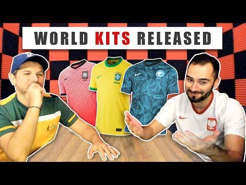 Nike Football kit drops: BRAZIL, SOUTH KOREA, SAUDI ARABIA and more!