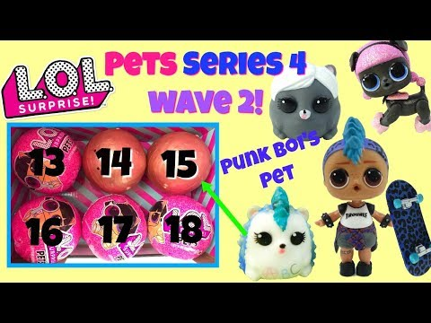 LOL Surprise Pets Series 4 Wave 2 All Gold Found Ball Placement And Weights Punk Boi Pet Punk Hog