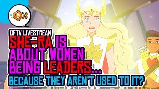 SHE-RA Showrunner Glad Women Can FINALLY Lead in Comics and Animation?!