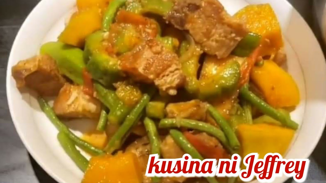 Pork Belly Pinakbet My Own Version Kapampangan Style Youtube