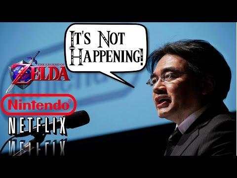 Zelda Netflix TV Series NOT Happening Says Nintendo | Zelda News