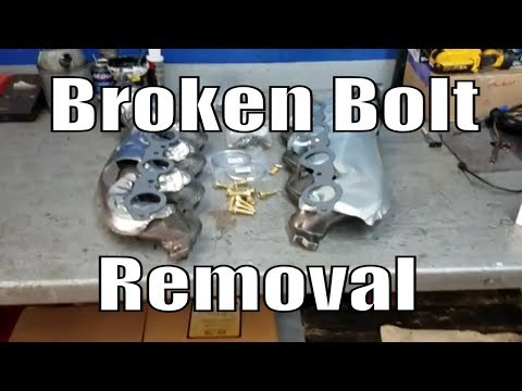 """Chevy 5.3L 6.0L Exhaust Manifold Replacement """"Complete Guide"""" Broken Bolts"""