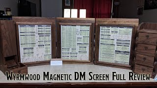 Magnetic DM Screen by Wyrmwood Gaming - Full Review