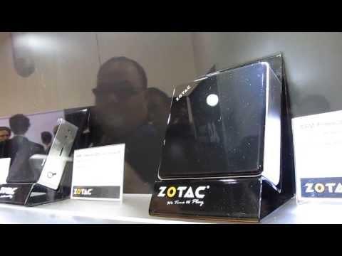 Zotac Zbox Nano ARM Mini PC Systems Unveiled At CES 2014 (video)