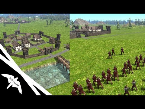 NEW Medieval City Building & Total War Mixture! - Lords and Peasants