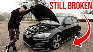 MY WRECKED VW GOLF R GETS ITS FIRST MODIFICATIONS