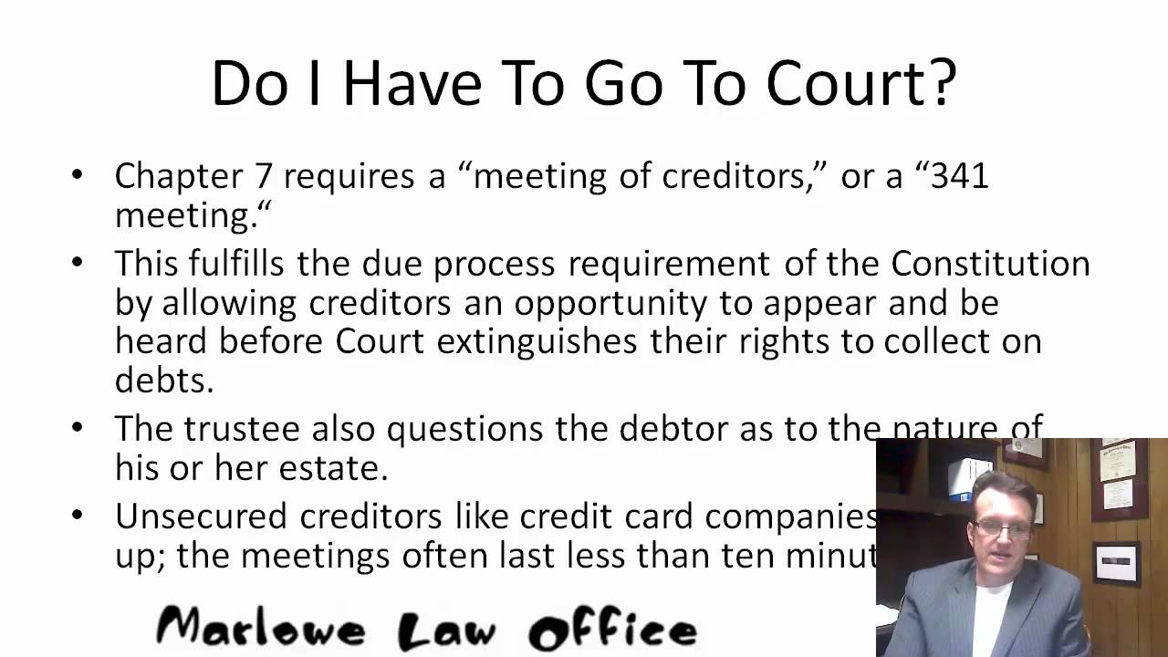 bankruptcy chapter 7 ohio rules