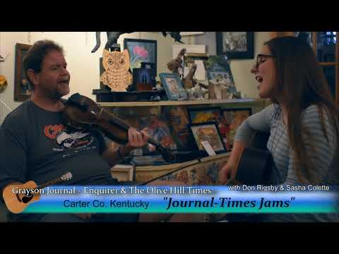 "Journal-Times Jams #3 Sasha Colette and Don Rigsby, ""I'll Fly Away"""