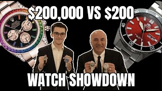 Kevin O'Leary Shops for AFFORDABLE WATCHES