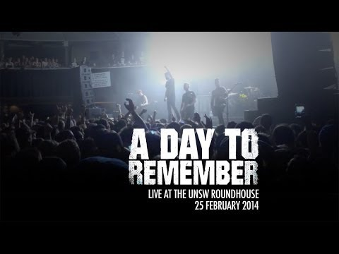 A Day To Remember at UNSW Roundhouse (Sydney, Australia) - 25 February 2014