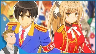 One of my FAVORITE Comedy Anime: Amagi Brilliant Park Anime Review