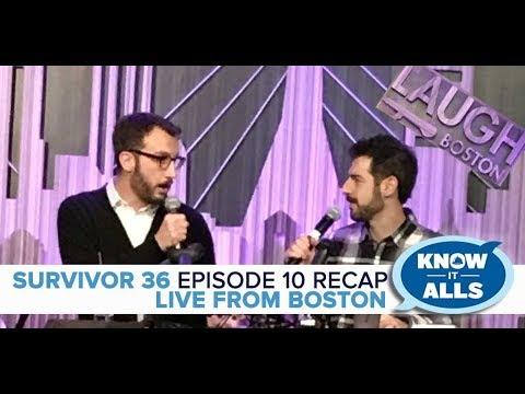 Survivor Know It Alls LIVE Boston   Ghost Island, Episode 10 Recap