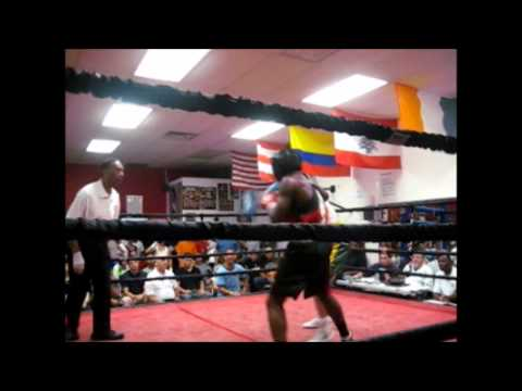 Yommy Areil Perez vs Paul Haggerty, amateur boxing in New Jersey, interview with Perez on win