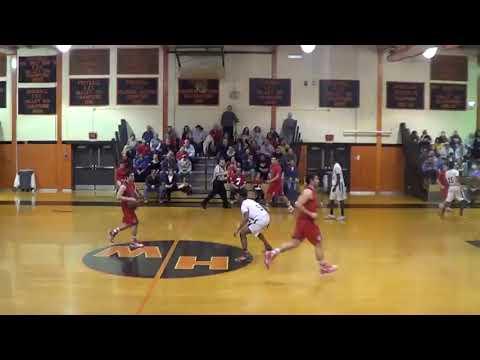 Wall Boys Basketball (49) At Hamilton West (51), CJ III State Tournament Round 2, 3/7/15