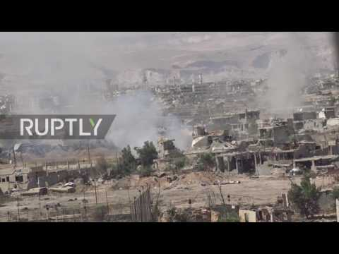 Syria: SAA gains ground from militants in Damascus' suburbs