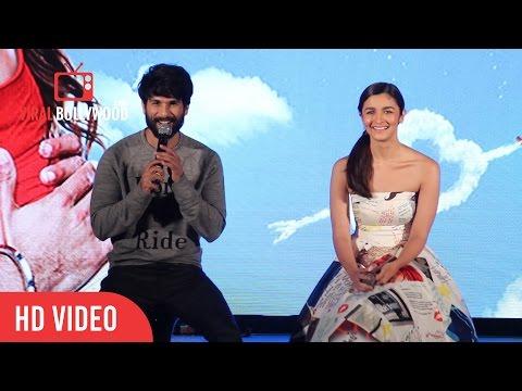 Question Answer Session | Shahid Kapoor | Alia Bhatt | Shaam Shaandaar Song Launch