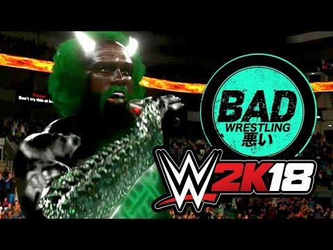 MECHASANTA RETURNS! B.A.D. Wrestling Ep. 3 (WWE 2K18 Gameplay)