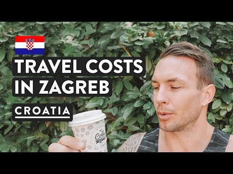 IS CROATIA EXPENSIVE? Zagreb Kuna to Dollar Cost of Living | Croatia Prices Travel Vlog