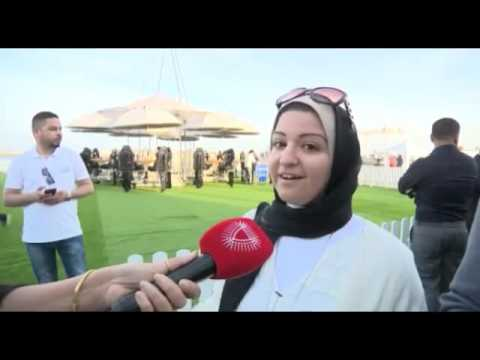 Bahrain TV coverage of Layan's Launch event