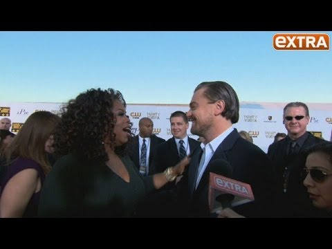 Critics' Choice Awards 2014: Oprah Winfrey and Leo DiCaprio's Red Carpet Collision