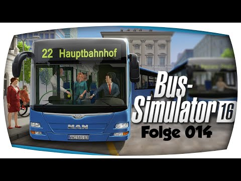 Bus-Simulator 16 - [014] - Ist das eng hier   Let's Play BS16  