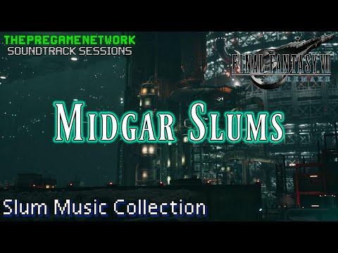 Midgar Slums - Final Fantasy VII Remake, Slum music collection | Soundtrack Sessions