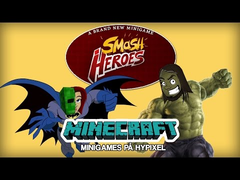 UFO SMASH!!! | Minecraft Smash Heroes med KimmyPOWER