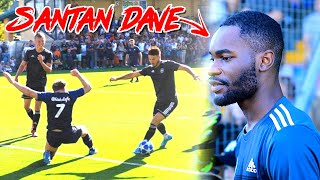 F2 PLAY IN REAL MATCH! 😱 FT. SANTAN DAVE 🔥