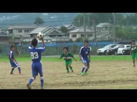 出た!驚愕 FK ! : NFA2部リーグ 奈良育英 vs 一条