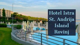 Beautiful Island in Istria Rovinj St. Andrija island Hotel Istra