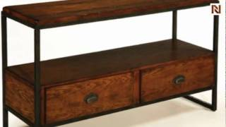 Baja Entertainment Console Table T2075286-00 By Hammary Furniture