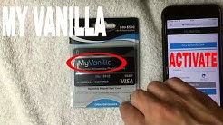 ✅  How To Activate My Vanilla Prepaid Card ????