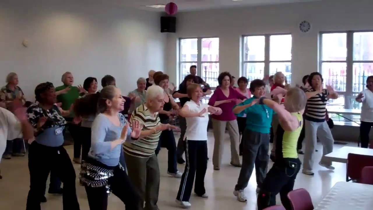 Zumba Gold  Isaacs Senior Center  YouTube