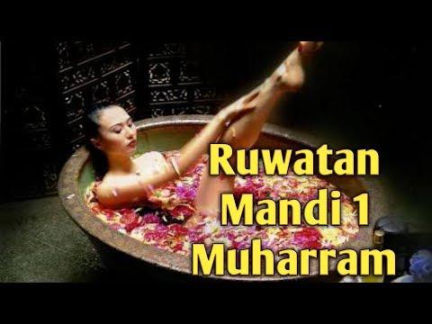 Tradisi ruwatan mandi di bulan muharram 1439 H
