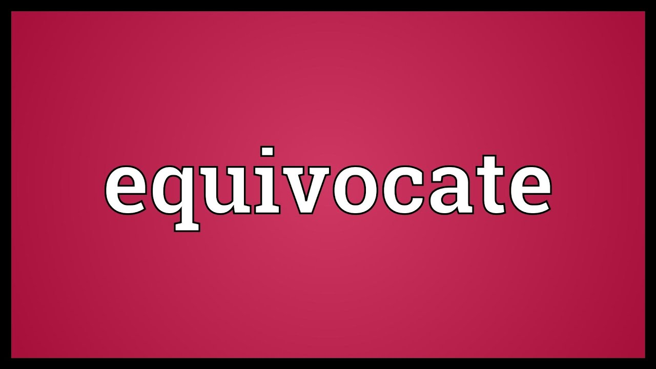 equivocate - DriverLayer Search Engine