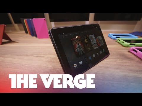 Kindle Fire HDX 8.9 hands-on